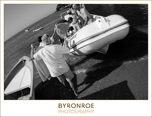 vallarta adventures boat to las calentas mexico wedding2