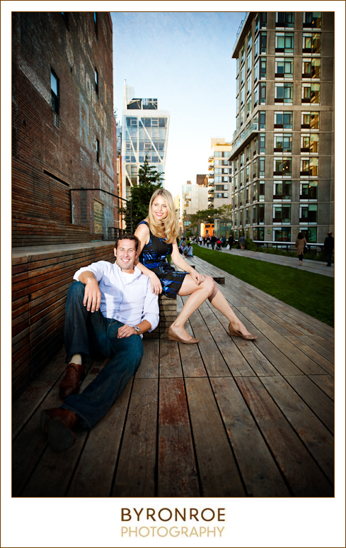 Pre Wedding Photography Nyc: To Elise, From Andy; NYC Highline Pre-Wedding Engagement